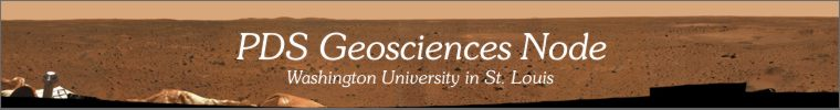 PDS Geosciences Node, Washington University in St. Louis